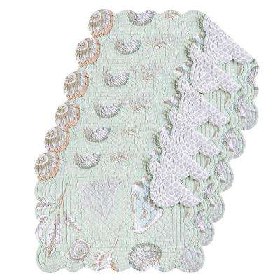 Breezy Shores Green Placemat (Set of 6)