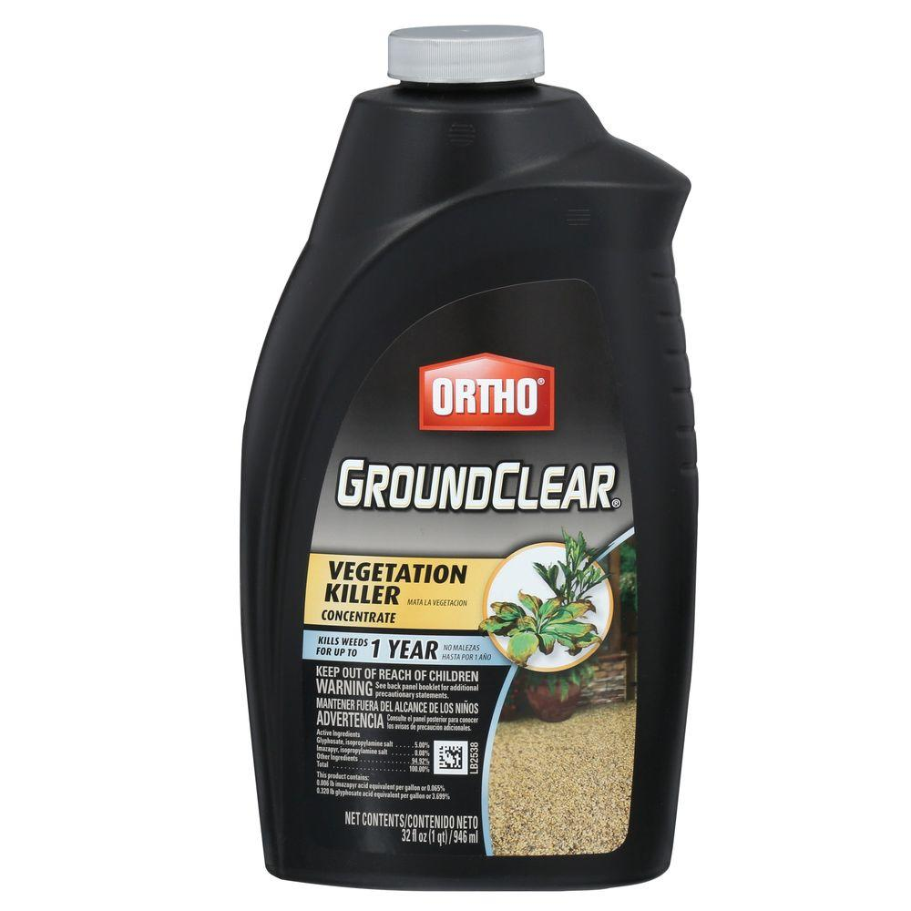 GroundClear 32 oz. Vegetation Killer Concentrate
