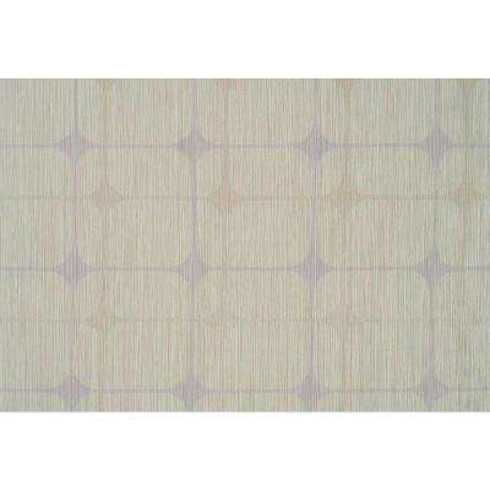 Lavender Accent Retro Print Wallpaper