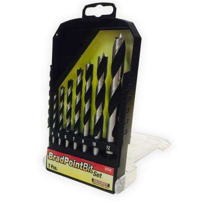 Metric Brad Point Bit Set (7-Piece)