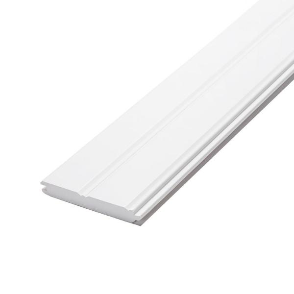 1 in. x 6 in. x 8 ft. Radiata Pine Primed Finger-Joint Edge and Center Bead Panel (6-Pack)