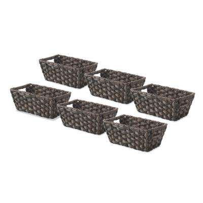 0.2 Gal. Driftwood Storage Totes (Set of 6)