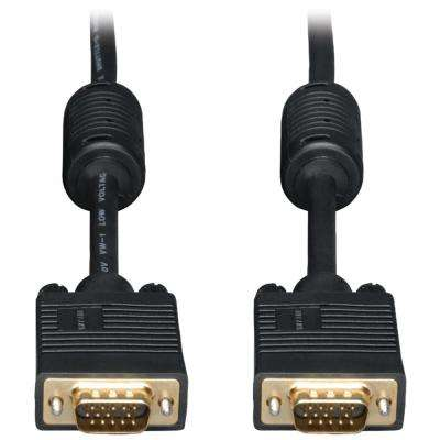SVGA 6 ft. High-Resolution Coaxial Monitor Cable with RGB Coaxial
