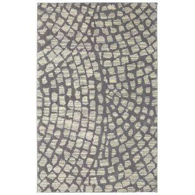 Cohassett Grey 8 ft. x 10 ft. Indoor/Outdoor Area Rug