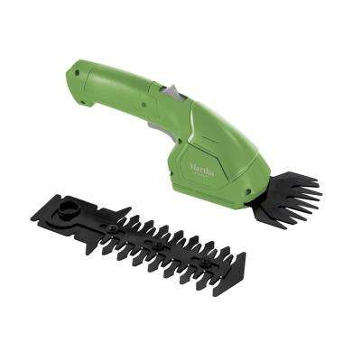 7.2-Volt Cordless 2-in-1 Grass Shear and Hedge Trimmer