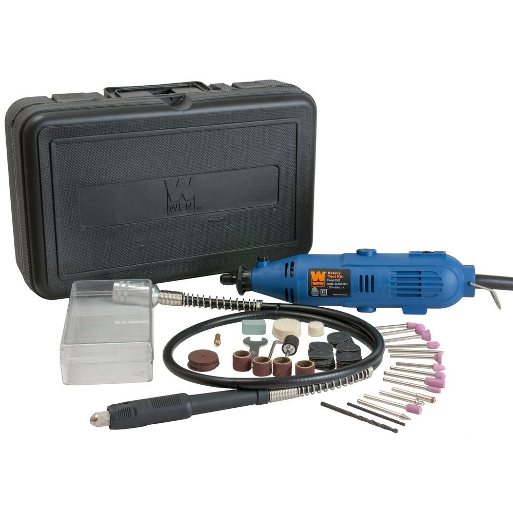 WEN Rotary Tool Kit with Flex Shaft