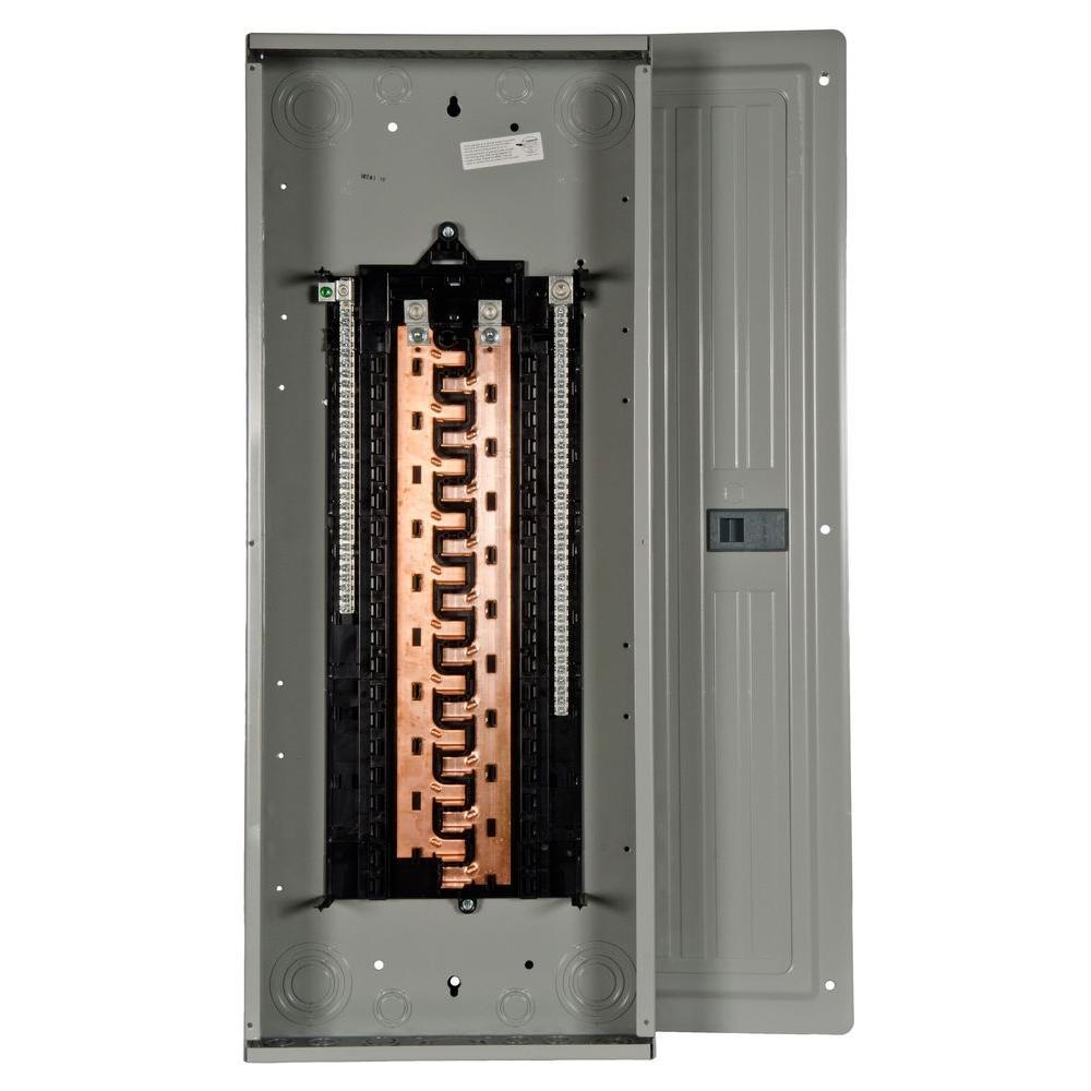 Siemens PL Series 200 Amp 40-Space 40-Circuit Main Lug Indoor Split ...