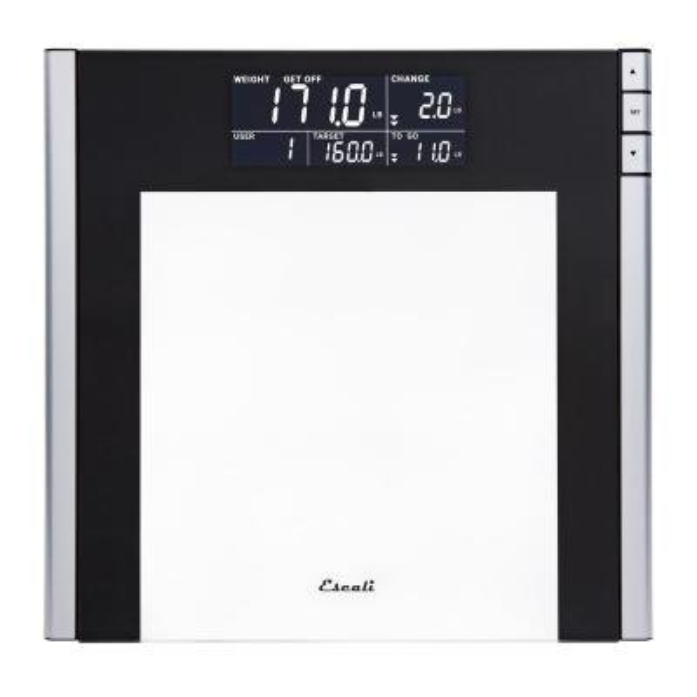 Digital Track and Target Bathroom Scale