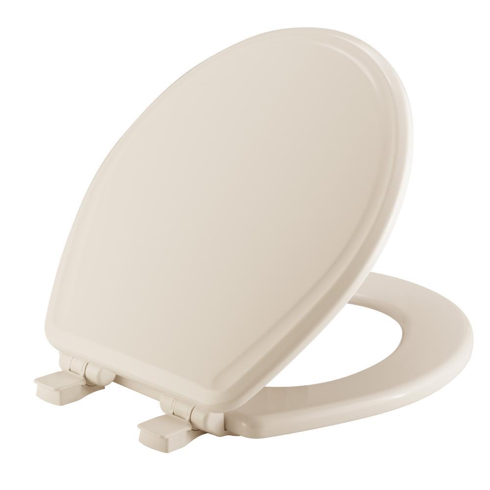 Surprising Church Round Closed Front Toilet Seat In Biscuit Uwap Interior Chair Design Uwaporg