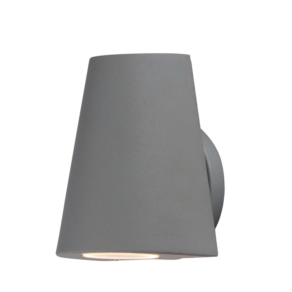 Maxim Lighting 1-Light Silver Integrated LED Outdoor Wall Lantern Sconce
