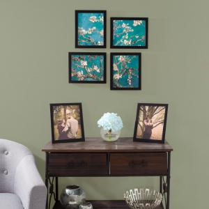 8 in. x 10 in. Black Picture Frame (6-Pack)