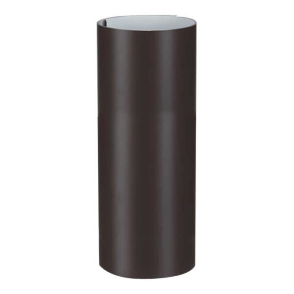 8 in. x 10 ft. Galvanized Steel Roll Valley Flashing in Brown