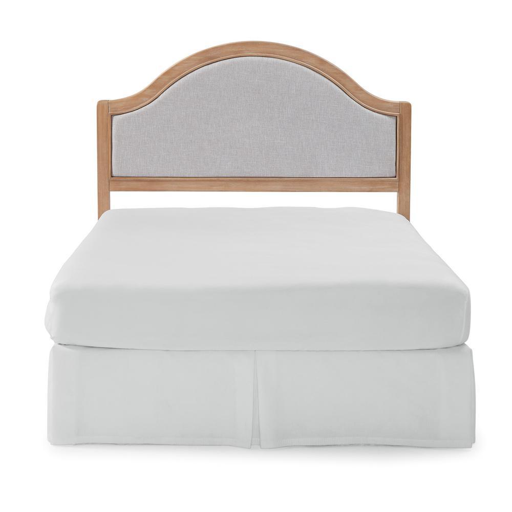 Cambridge White Wash Maple Queen Headboard