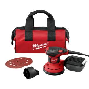 Milwaukee 3 Amp 5 inch Corded Random Orbit Palm Sander by Milwaukee