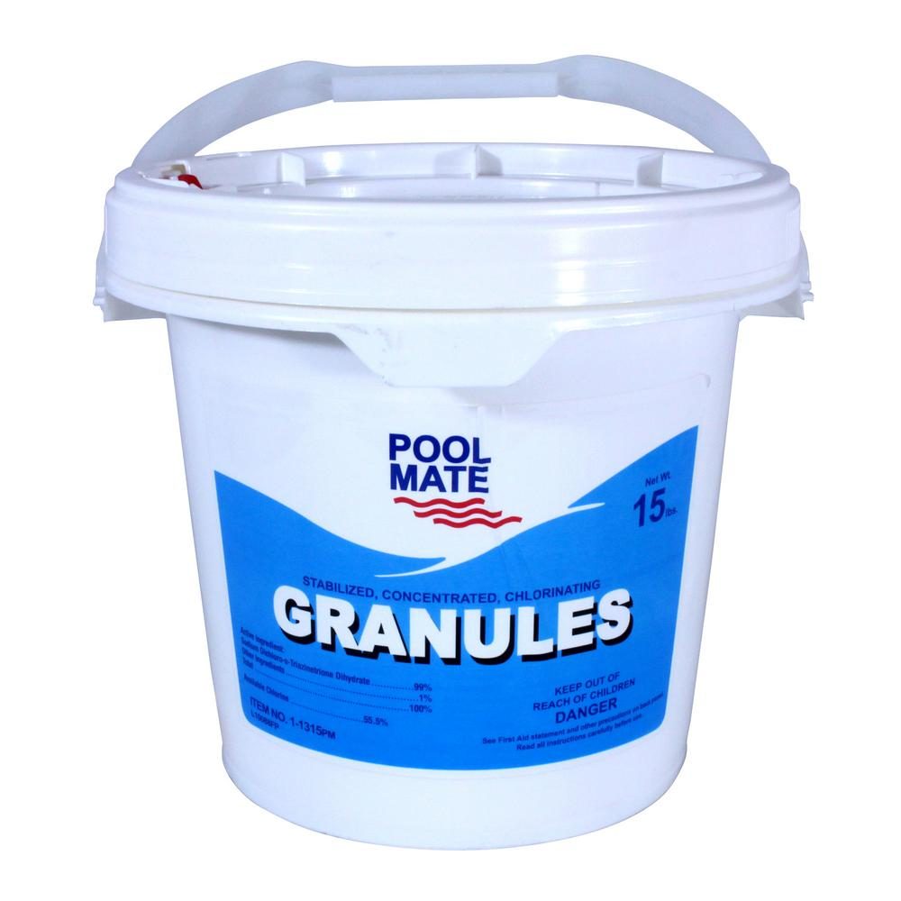 15 lb. Pool Concentrated Chlorinating Granules