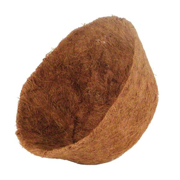 12 in.  AquaSav Coconut Liner for hanging baskets