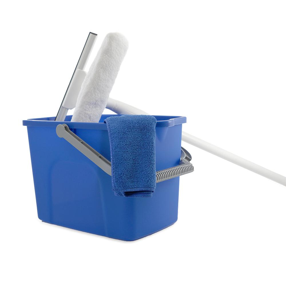 Unger 10 In Window Washing Starter Kit With Pole And Bucket