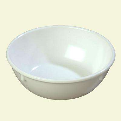 10.0 oz., 4.96 in. Diameter Melamine Nappy Bowl in White (Case of 48)
