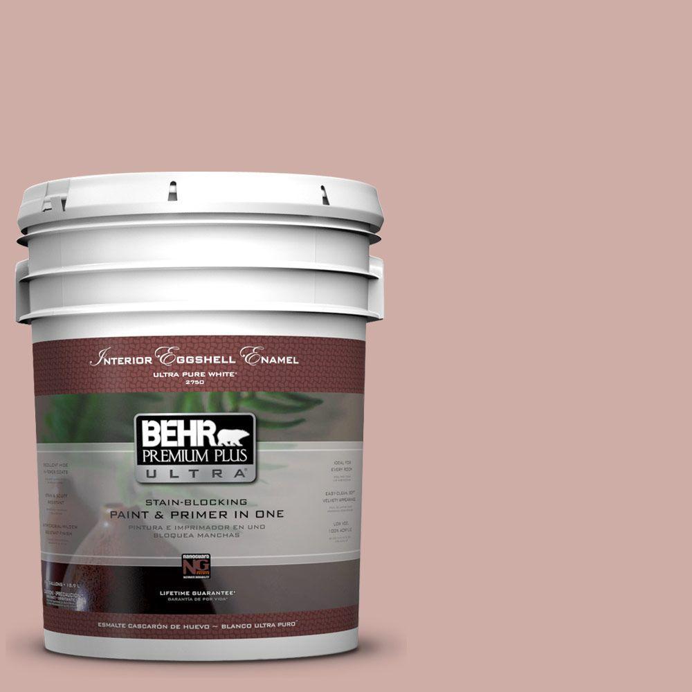 BEHR Premium Plus Ultra 5-gal. #190E-3 Velveteen Crush Eggshell Enamel Interior Paint