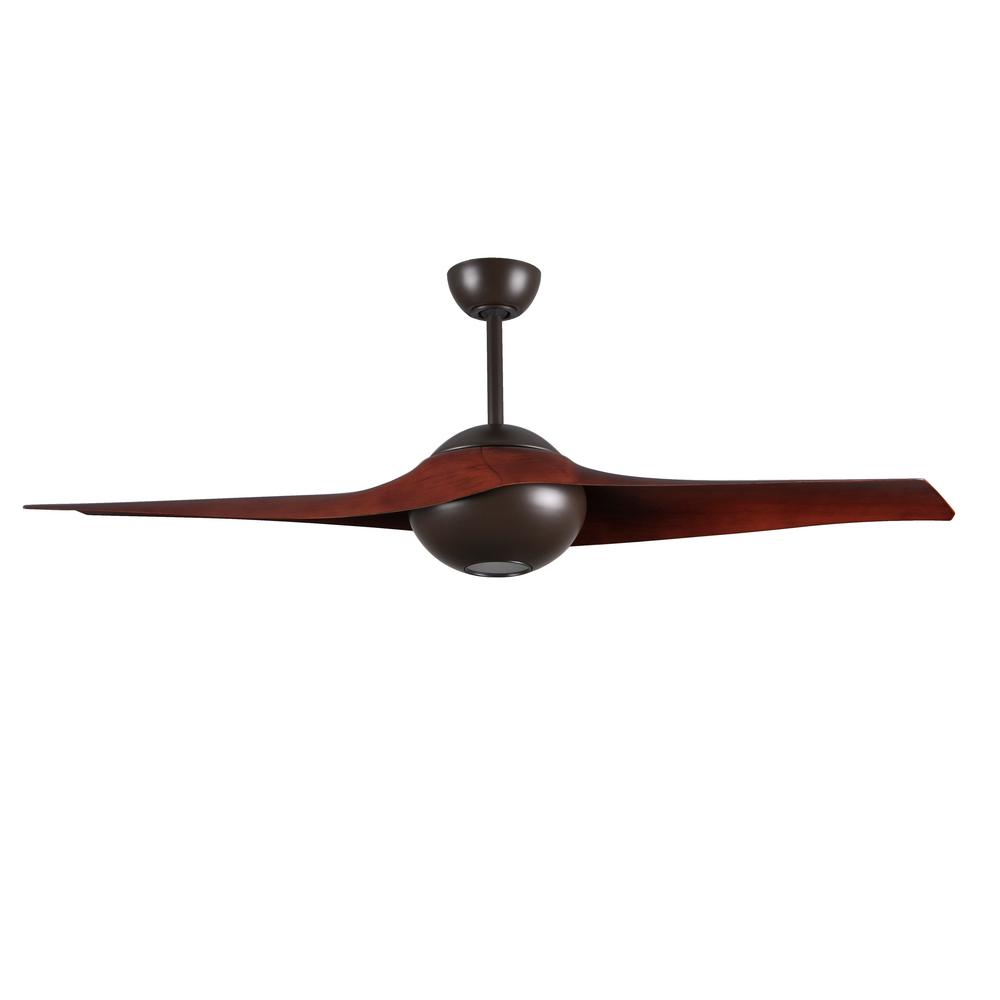 Radionic Hi Tech Pertoria 60 In 2 Blade Textured Bronze Ceiling Fan