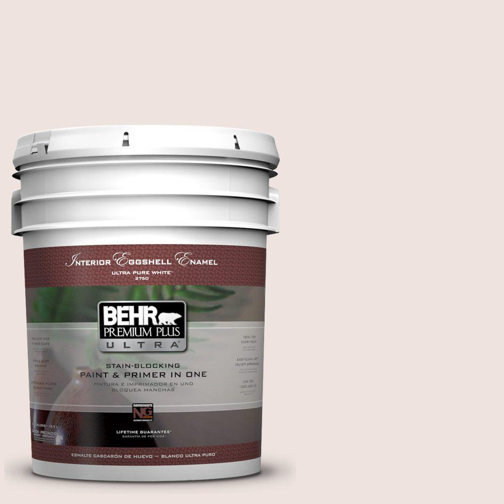BEHR Premium Plus Ultra 5-gal. #ICC-33 Soft Feather Eggshell Enamel Interior Paint