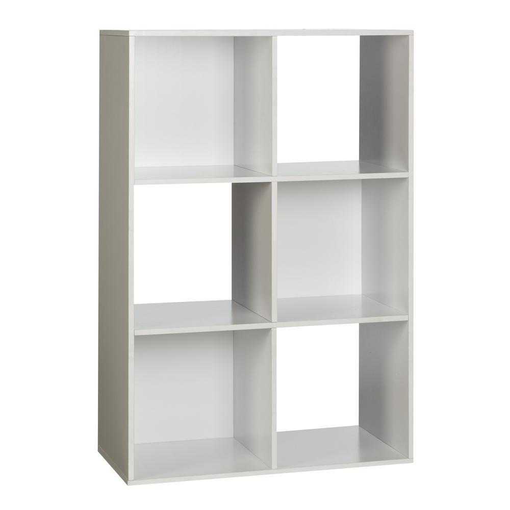 6-Cube Organizer, White