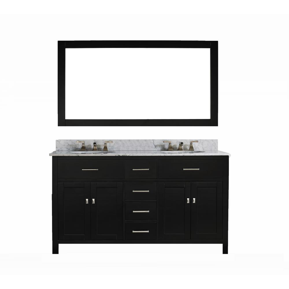 innoci-usa San Clemente 60 in. Vanity in Espresso with It...