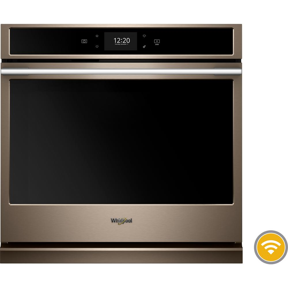 Whirlpool 30 In Smart Single Electric Wall Oven With True