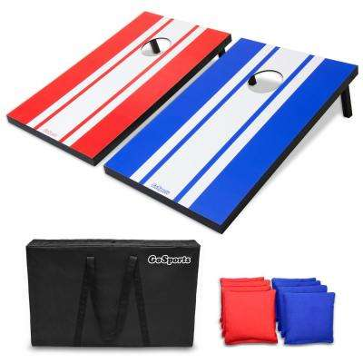 3 ft. x 2 ft. Classic Cornhole Set, Travel Case and Game Rules