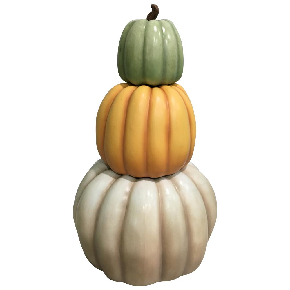 Home Accents Holiday 26.5 in. H Harvest Stackable Pumpkins