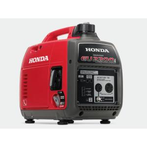 Honda 2200-Watt Super Quiet Gasoline Powered Portable Companion Inverter Generator with Eco-Throttle and 30 Amp Outlet by Honda