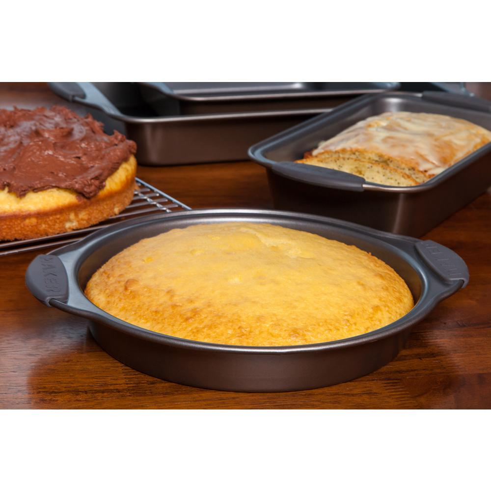 Maker Homeware Steel Round Cake Pan