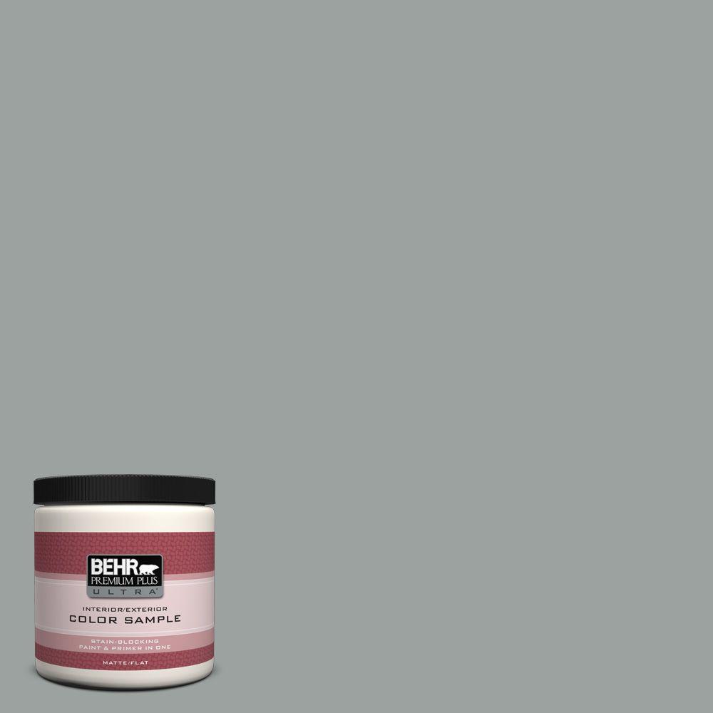 8 oz. #PPU11-16 Brampton Gray Interior/Exterior Paint Sample
