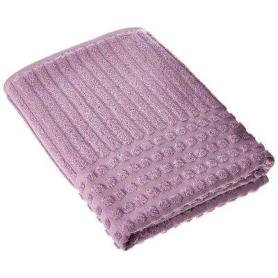 Piano Collection 27 in. W x 55 in. H 100% Turkish Cotton Luxury Bath Towel in Lavender (Set of 2)