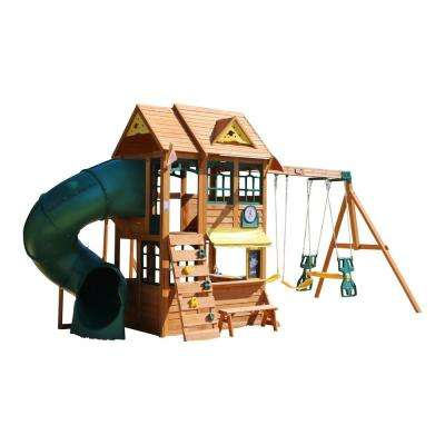 Summerlin Retreat Wooden Swing Set/Playset
