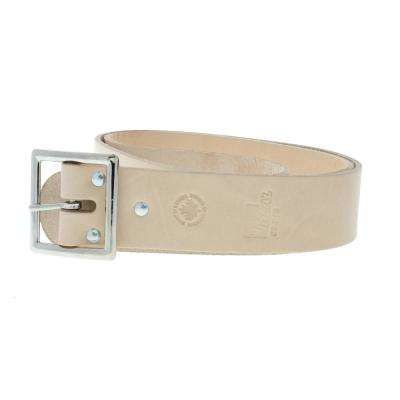 1-3/4 in. x 48 in. Standard Leather Buckle Tool Belt