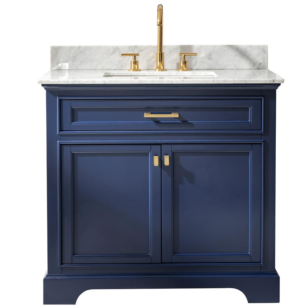Design Element Milano 36 in. W x 22 in. D Bath Vanity in ...