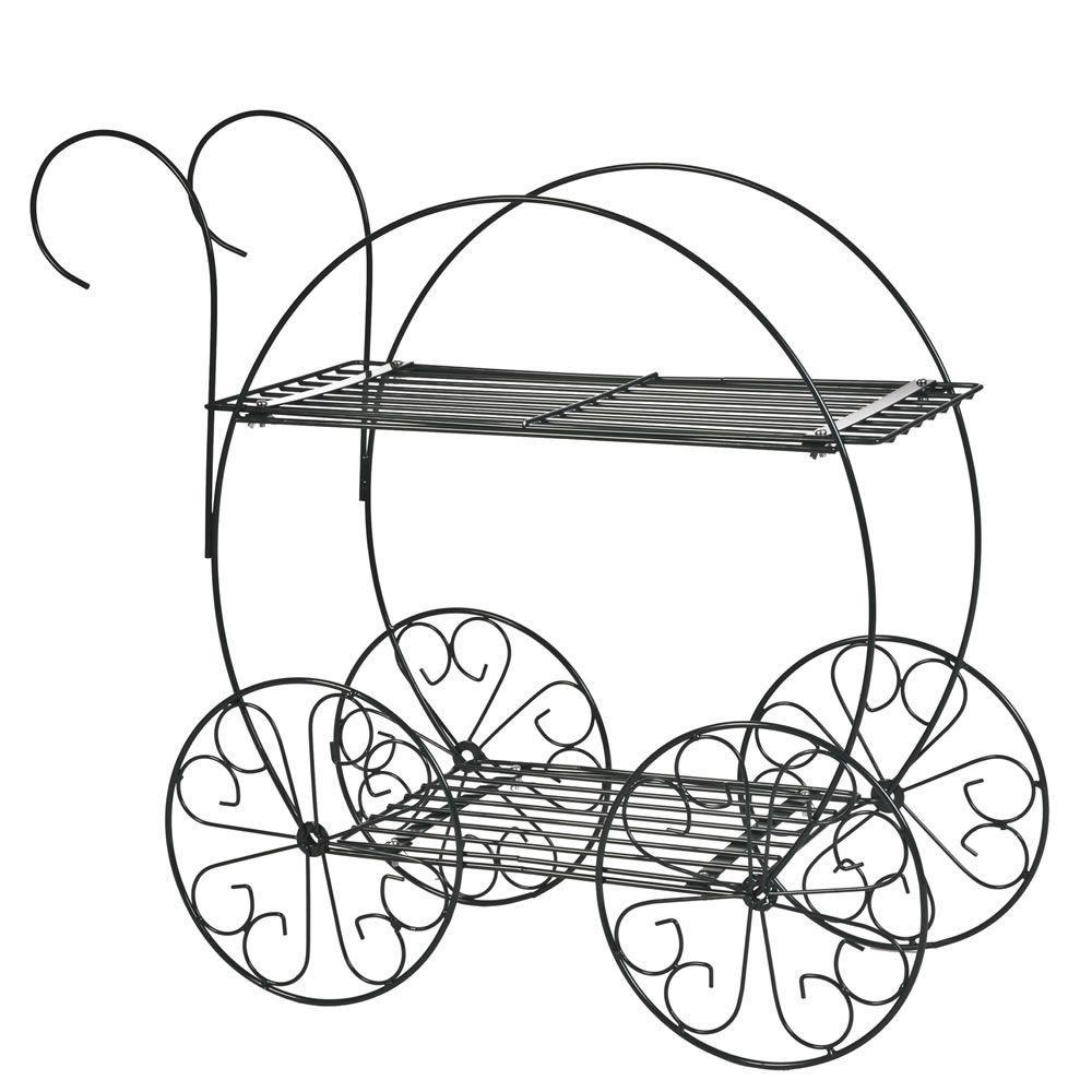 2-Tier Garden Cart