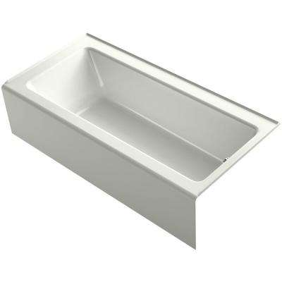 Bellwether 5.5 ft. BubbleMassage Walk-In Whirlpool and Air Bath Tub in Dune