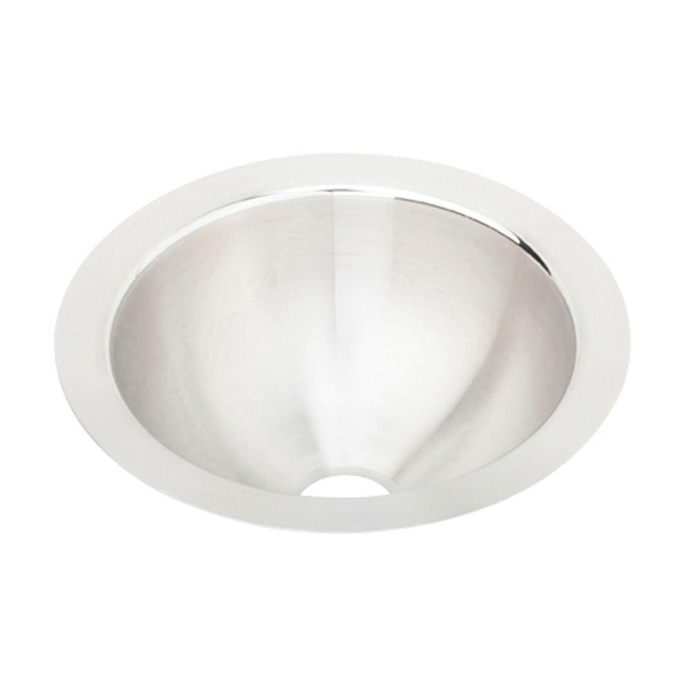 Elkay Lustertone Undermount Stainless Steel 11 in. Single Bowl Kitchen Sink