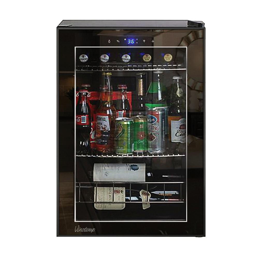 Single Zone 16.9 in. 20 Bottle Freestanding Wine Cooler