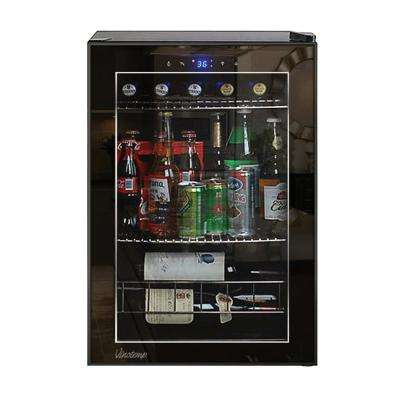 Single Zone 16.9 in. 20-Bottle Freestanding Wine Cooler