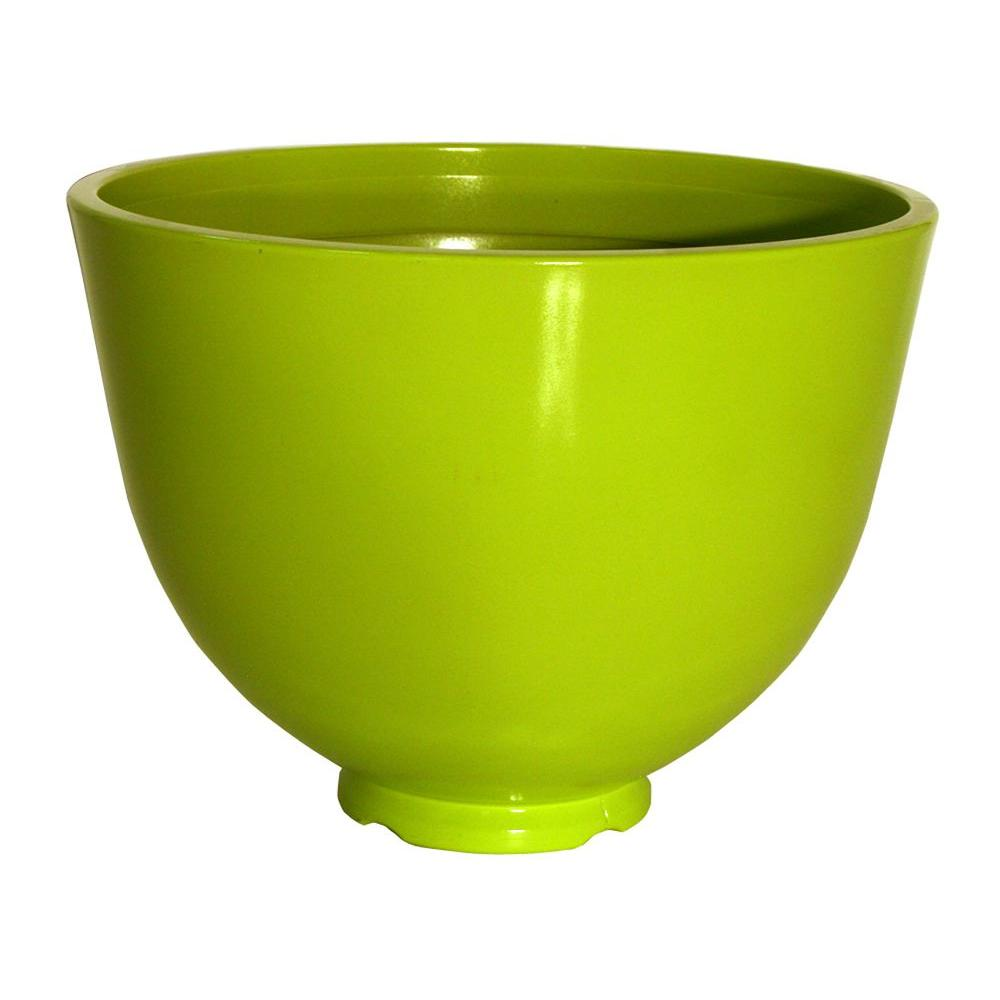 Southern Patio 15 in. High-Density Resin Roe Bowl in Limeade-DISCONTINUED