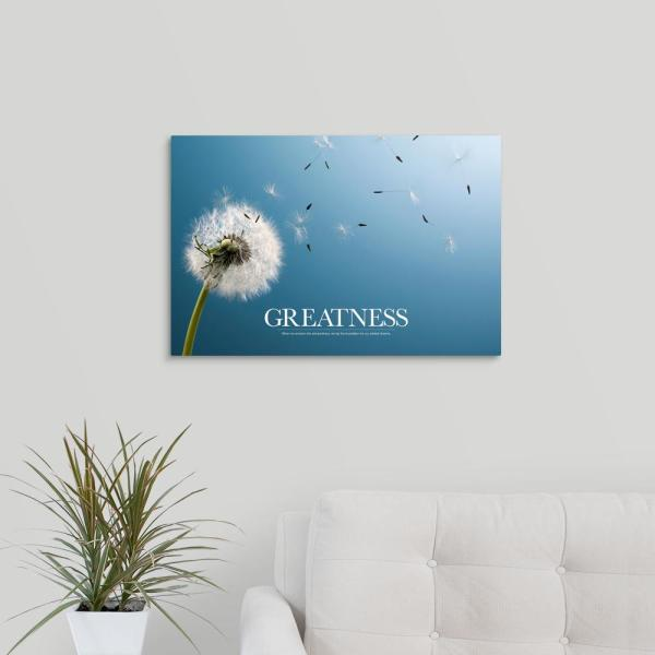 GreatBigCanvas ''Inspirational Motivational Poster: When we envision the