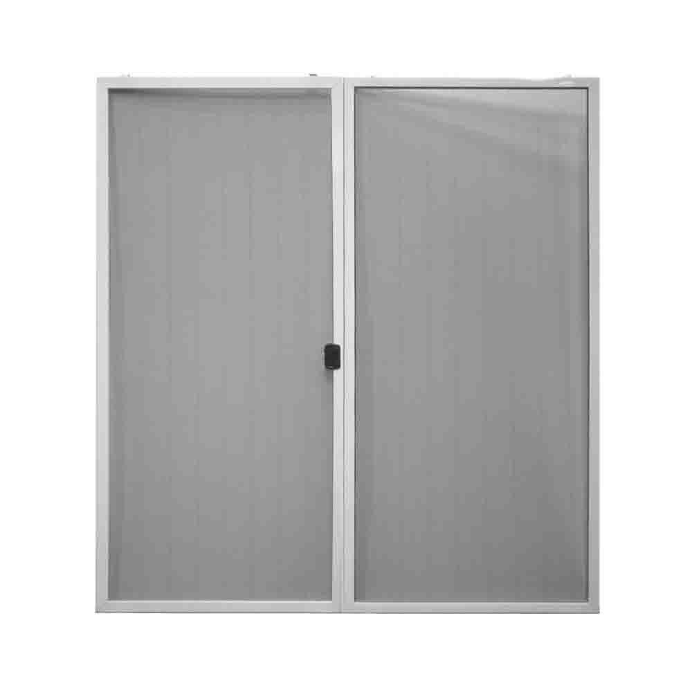 Steves sons 70 1 4 in x 77 1 4 in white sliding patio for Home depot outside doors