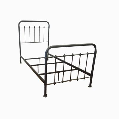 Black Metal Twin Standard Bed