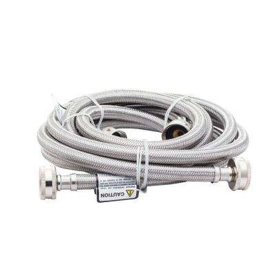 6 ft. Stainless Steel Fill Hose (2-Pack)