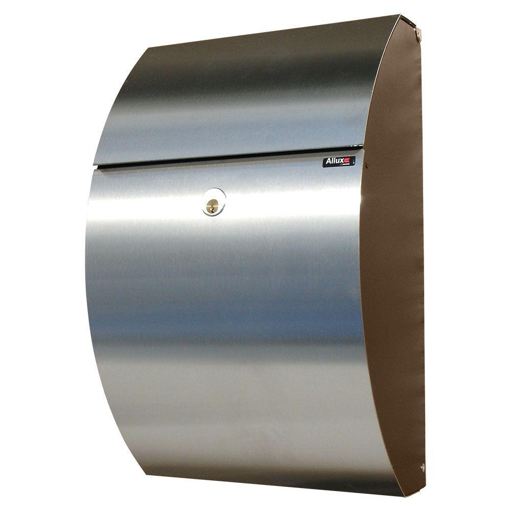QualArc Black/Stainless Locking Mailbox