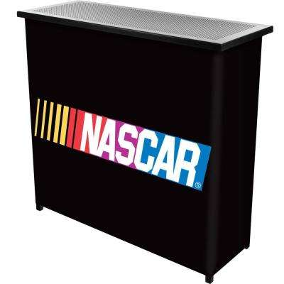 NASCAR 2-Shelf Black Bar with Case