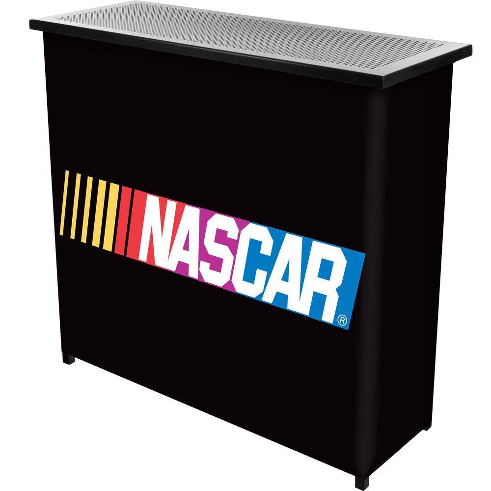 NASCAR 2-Shelf Black Bar with Case